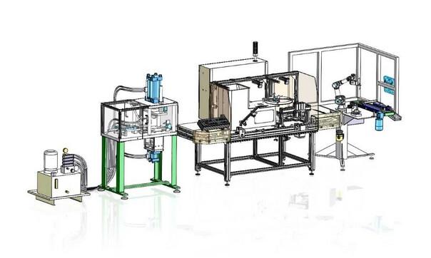 v2 ligne de fabrication et de conditionnement de comprimés